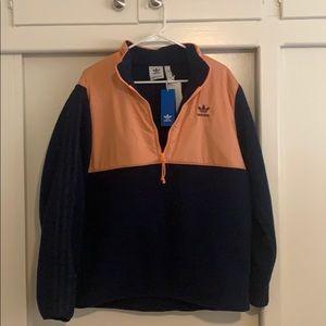 Adidas quarter zip fleece (new w/ tags)